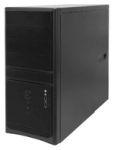 """Корпус INWIN EC021BL (ATX 450Вт 3х5,25""""/2х3,5"""" 2xAudio/2xUSB2.0) Чёрный"""