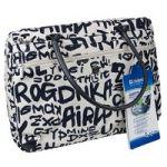 """Сумка для ноутбука DEFENDER Graffiti (женская)  15.4"""" синие буквы"""