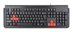 Клавиатура A4Tech X7 G300 Black PS/2