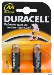 Батарейка Duracell LR6-2BL BASIC АА (2шт)