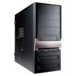 """Корпус INWIN EC025BL (ATX 450Вт 3х5,25""""/2х3,5"""" 2xAudio/2xUSB2.0) Чёрный"""