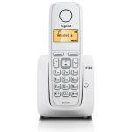 Телефон DECT Siemens Gigaset A120 телефонная книга на 50 контактов CLIP, АОН Белый 1 трубка в комплекте