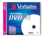 Диск DVD+R Verbatim  4.7ГБ, 16x Printable
