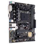 Материнская плата Socket FM2+ ASUS A68HM-K Retail (AMD A68H 2xDIMM DDR3 1xPCI 1xPCI-E16+1xPCI-E1 D-Sub/DVI 4xSATA 8xUSB 7.1 LAN1000 mATX)