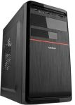 "Корпус Velton 7808A-Red 450 (mATX 450Вт 1х5,25""/1х3,5"" 2xAudio/1xUSB2.0/1xUSB3.0) Чёрный/Красный"