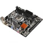 Материнская плата ASRock H110M-DGS Retail (Soc-1151 iH110 2xDIMM DDR4 1xPCI-E16+1xPCI-E1 DVI 4xSATA 10xUSB 7.1 LAN1000 mATX)