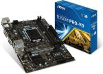 Материнская плата Socket 1151 MSI B250M PRO-VD Retail (Soc-1151 Intel B250 2xDDR4 mATX AC`97 8ch(7.1) GbLAN+VGA+DVI)